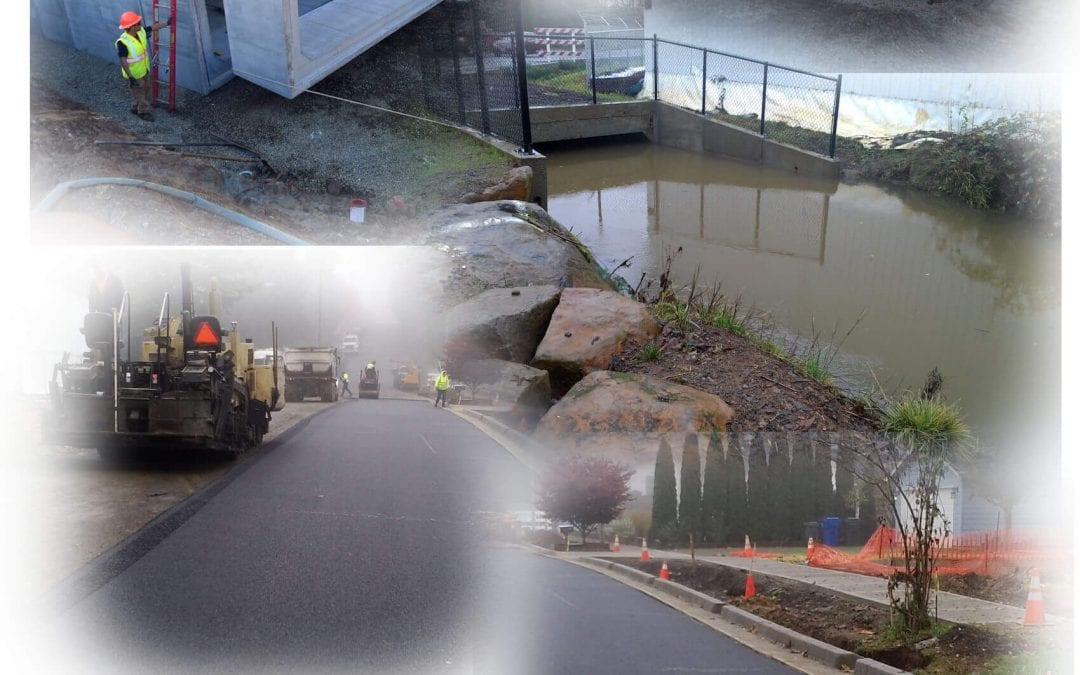 Waln Creek Improvements at Woodside Drive SE